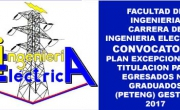 Convocatoria PETENG